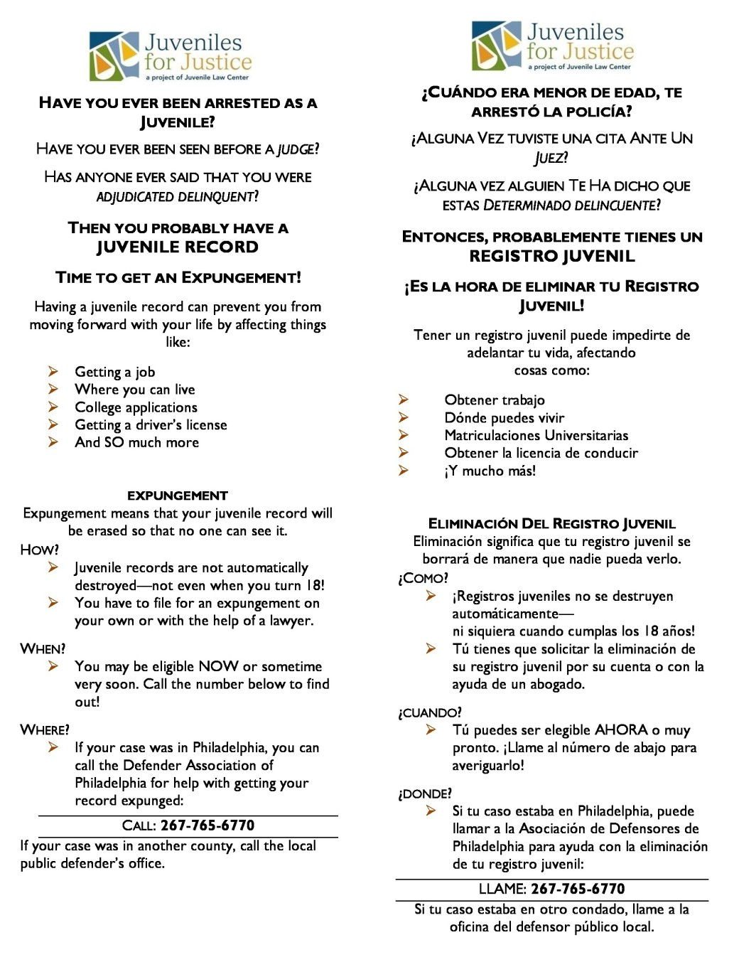 Juvenile Expungement Information-page-0